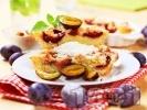 Рецепта Пухкав кекс със сини сливи